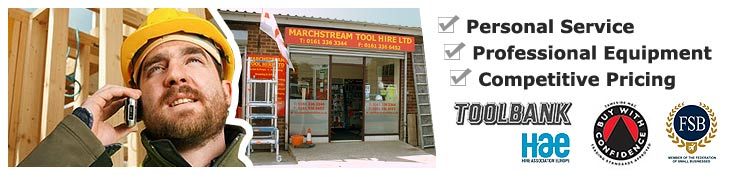 Tool Hire, Manchester, Stockport, Cheshire